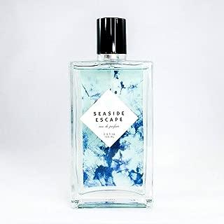 Seaside Escape Eau De Parfum by Tru Fragrance and Beauty - Bright and Fresh Fruity Floral Perfume for Women - Bergamot, Jasmine, Sea Salt Lotus, Ocean Musk and Sheer Woods - 3.4 oz