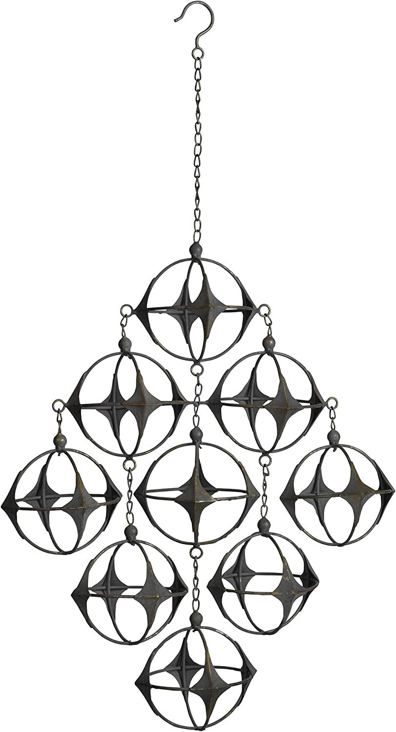 Design Toscano Bombing free trust shipping Kinetic Constellation Futuristic Mobile Hanging S