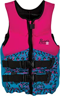 Ronix Prom QueenCapella - 2.0 CGA Life Vest - Pink/Turquoise - Teen (75-125lbs) (2019)