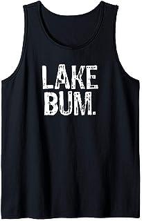 Distressed Lake Bum Tank Top