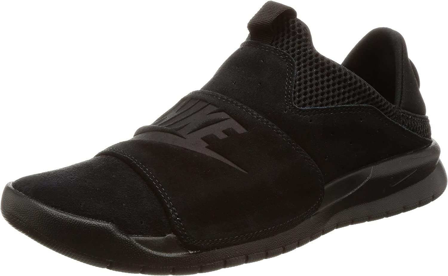 Nike Benassi SLP Mens Fashion-Sneakers 882410-003_10 - Black Black-Black, 9 UK