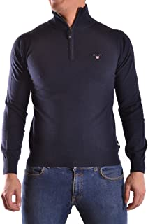 GANT Men's Cotton Wool Zip Long Sleeve Jumper