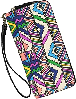 Wallets Clutch Women Bohemian - Zipper Phone Wristlet Wallet Purse With Handle