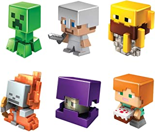 Minecraft All-Stars Mini Figure Six-Pack, Great for Playing, Trading, and Collecting, Action and...