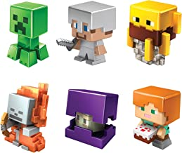 Minecraft All-Stars Mini Figure Six-Pack, Great for Playing, Trading, and Collecting, Action and Battle Toy for Boys and G...