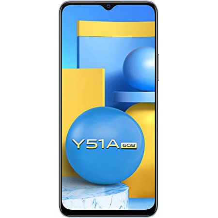 Vivo Y51A (Crystal Symphony, 6GB RAM, 128GB Storage) with No Cost EMI/Additional Exchange Offers
