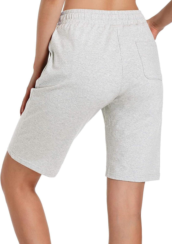 Ksmien Women's Cotton Bermuda Store Shorts G Activewear Workout Lounge Oakland Mall