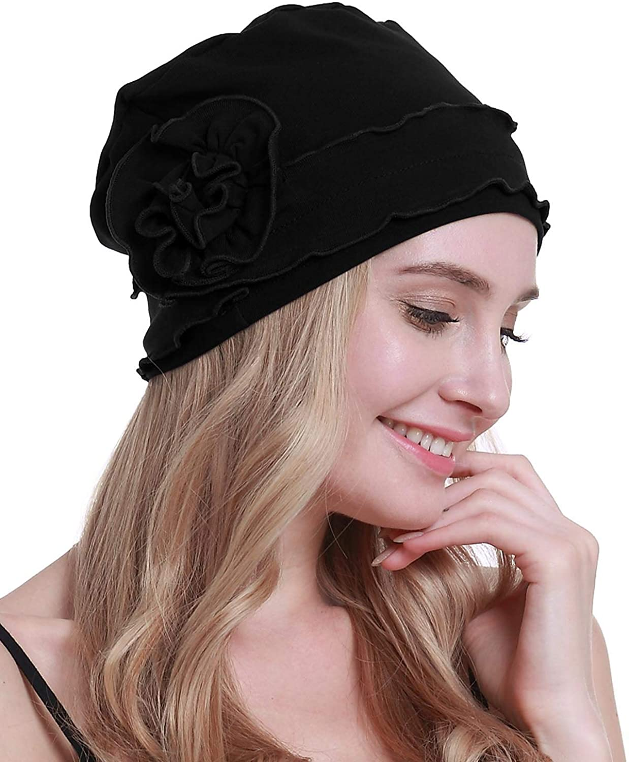 All stores are sold osvyo Chemo Headwear Turban Cap for Beanie Hair - L Manufacturer direct delivery Cancer Women