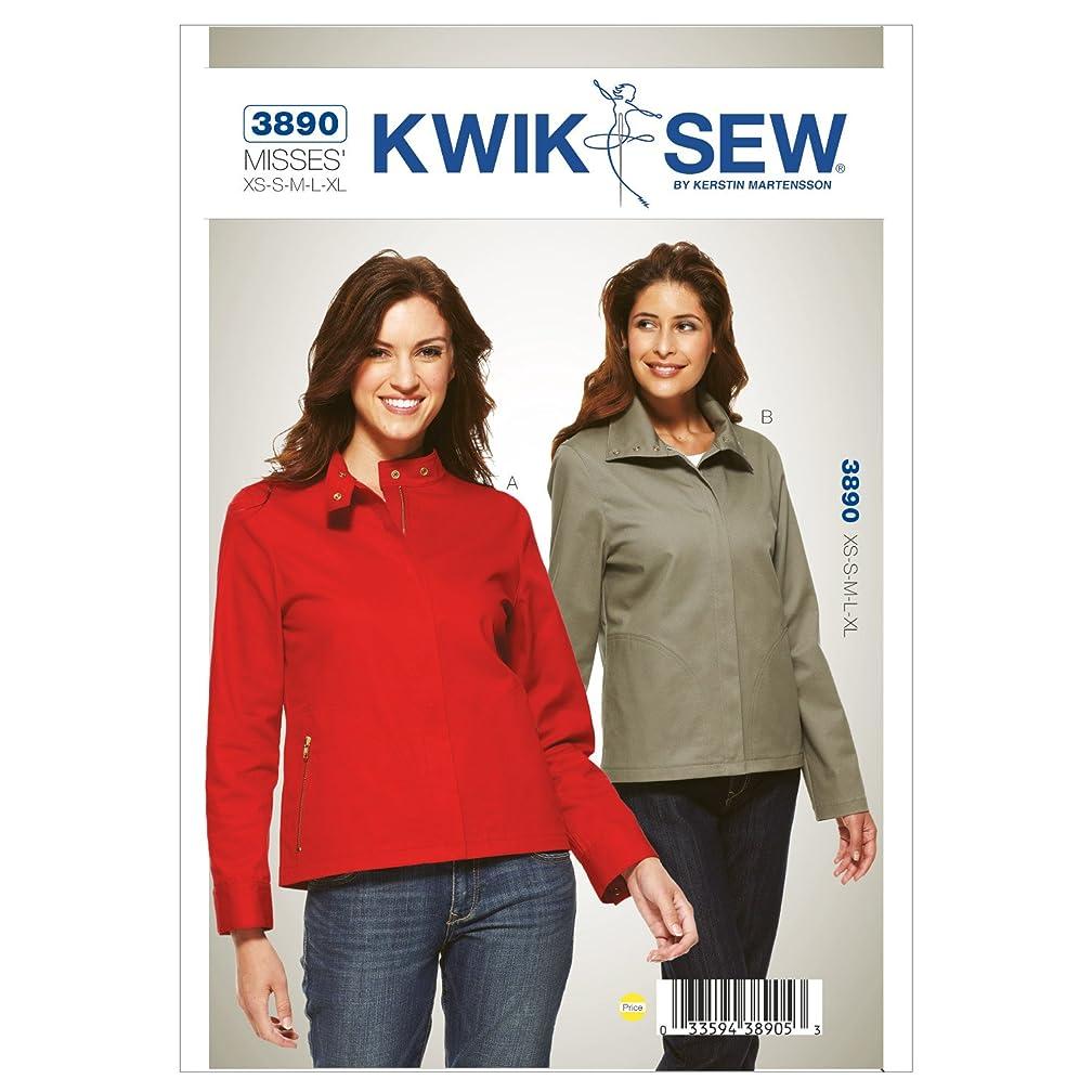 Kwik Sew K3890 Jackets Sewing Pattern, Size XS-S-M-L-XL