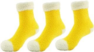 Super Soft Warm Microfiber Cozy Fuzzy Stripe/Polka Dot Socks