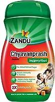 ZANDU CHYAVANAPRASH Avaleha Jaggery (Gur), Ayurvedic Immunity Booster, Provides Vitamins & Micro-Nutrients, Helps...