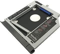 Nimitz 2nd HDD SSD Hard Drive Caddy for Lenovo Ideapad 330 320 520 with Gray Bezel/Bracket