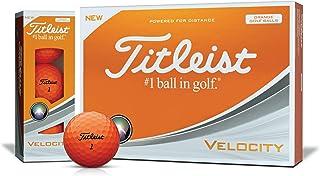 Titleist(タイトリスト)日本正規品 VELOCITY(ベロシティ) ゴルフボール 1ダース(12個入)