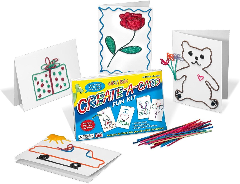 Wikki Stix Create A Card Fun Kit