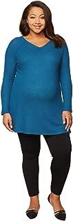 Women's Maternity Full Length Fleece Lined Seamless Leggings