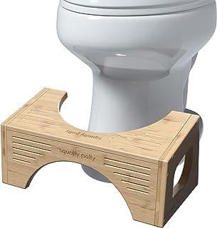 """Squatty Potty مدفوع اصلی توالت - بامبو FLIP ، ارتفاع 7 """"و 9"""" ، دو اندازه در یک"""