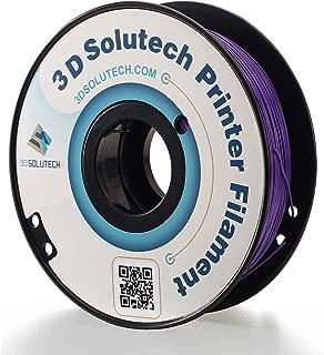 3D Solutech Real Purple 1.75mm ABS 3D Printer Filament 2.2 LBS (1.0KG)