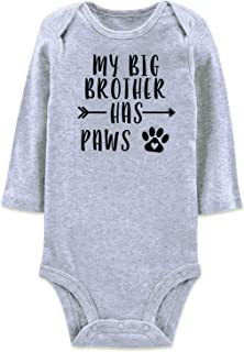 BFUSTYLE Baby Boys Girls Romper Bodysuit Infant Funny...