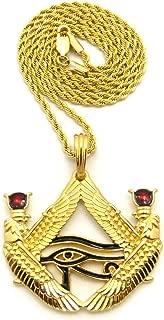 Egyptian God Eye of Horus Wadjet Pendant 24