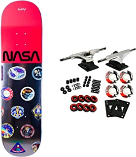 Habitat X NASA Skateboard Complete Mission Patch Logo Array 8.125