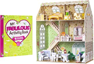 Rose Retreat - My First Dollhouse 3-D Puzzle and Activity Book