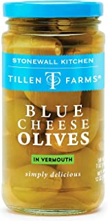 Tillen Farms Blue Cheese Olives- 6 Pack
