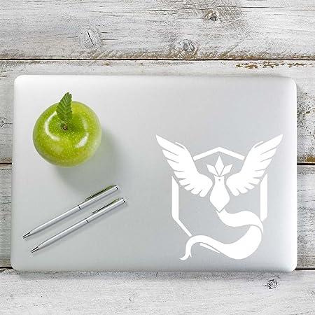 Walls Plastic Bumper Sticker Wood Sticks to Glass Metal Phones Team Mystic Pokemon Go Vinyl Decal Laptops and more!