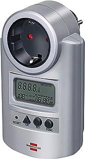 Medidor de energía brennenstuhl Primera-Line PM 231 E plata, 1506600, amarillo, 1506600