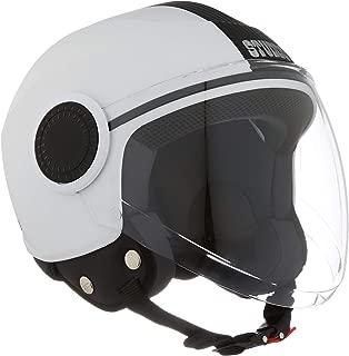 Studds Urban Half Helmet (White, XS)
