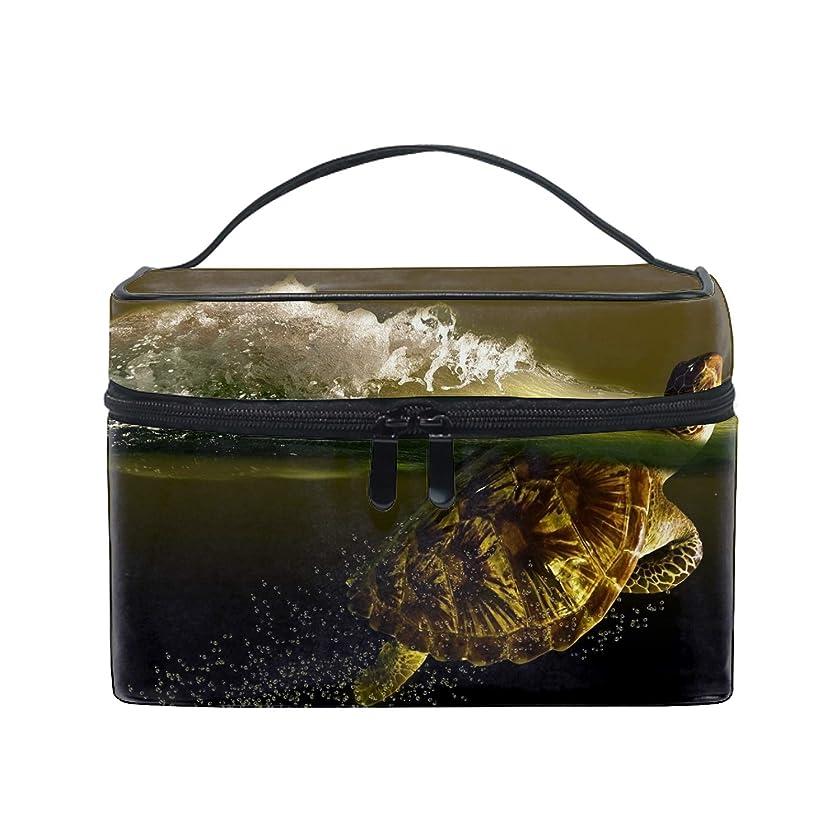 現代漂流マサッチョコスメポーチ 多機能収納ボックス 防水ケース Turtle大容量 高品質 超軽量 旅行用