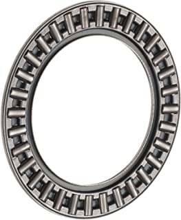 INA AXK1528 Thrust Needle Bearing, Axial Cage and Roller, Steel Cage, Open End, Metric, 15mm ID, 28mm OD, 2mm Width, 13000rpm Maximum Rotational Speed, 8100lbf Static Load Capacity, 2550lbf Dynamic Load Capacity