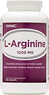 GNC LArginine 1000MG 180 Caplets