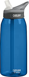 CamelBak Eddy 1L (32oz) Water Bottle with Hydrate or Die Logo