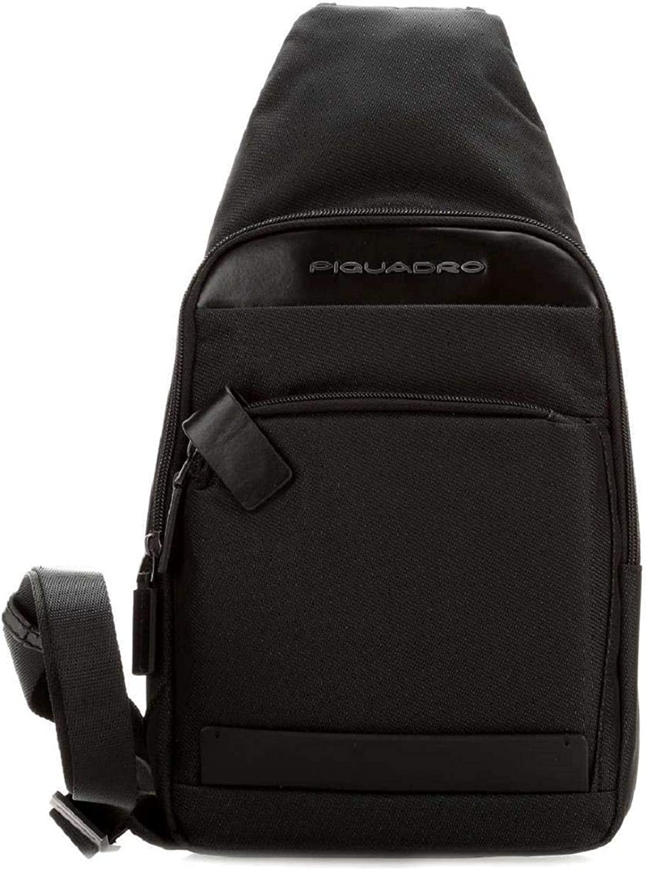 PIQUADRO Bag Klout Male Mono sling BlackCA4536S100-N