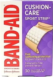BAND-AID Bandages Cushion-Care Sport Strip 30 ea (بسته 5 عددی)