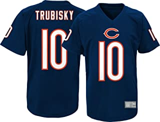 Mitchell Trubisky Chicago Bears #10 NFL Youth Performance Fashion Jersey Navy