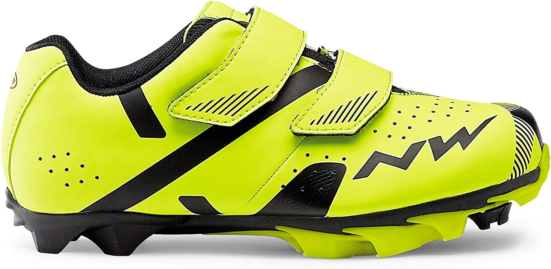 Northwave Hammer 2 Junior MTB Zapatos para niños Amarillo/Negro
