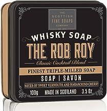 SCOTTISH FINE SOAPS The ROB ROY WHISKY jabón en lata 100g