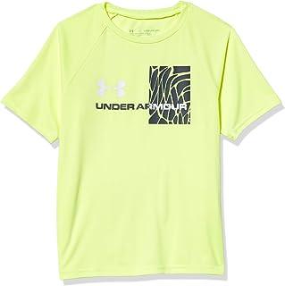 Under Armour Boys' Tech Splash Gradient Short Sleeve T-Shirt