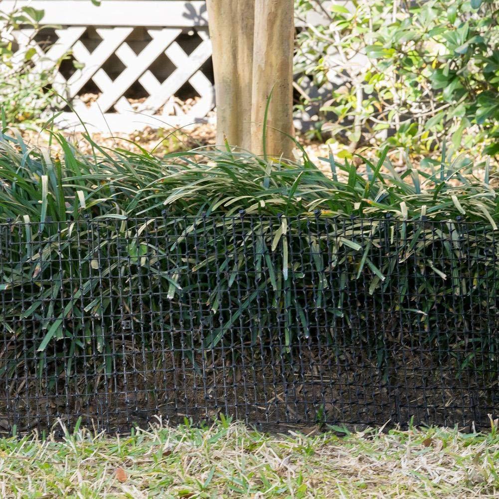 WUYANSE Jardín Gato Scat Mat Medio Ambiente Respetuoso con El Medio Ambiente Plástico Anti-Gato Espinas Repelente De Animales Estera Uñas De Plástico Valla Protectora Conjunto: Amazon.es: Hogar