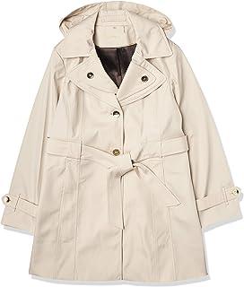 Calvin Klein Women's Rain Trench Single Breasted Jacket