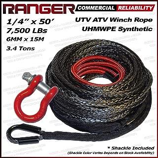 RANGER ULTRANGER SY45 Black 7500LBs 1/4
