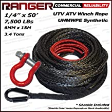 Best synthetic winch rope utv Reviews
