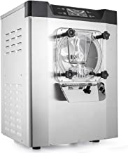 VEVOR Commercial Ice Cream Machine 1400W 20/5.3Gallon Per Hour Hard Serve Yogurt Maker with LED Display Perfect for Restaurants Snack Bar supermarkets, Sliver