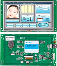 7 Inch Serial LCD Display Module with Program + Touch Screen for Equipment Control Panel(7 Inch, WTVC070WT-01)