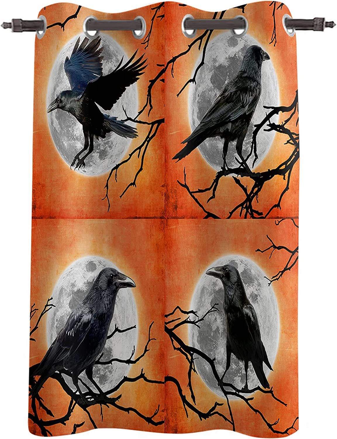 National products Darkening Blackout Window Selling rankings Curtains Drapes Halloween 96
