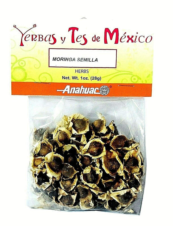 6 BAGS ANAHUAC Reservation MORINGA SEMILLA Phoenix Mall HERBS HIERBAS Wt Net 1 MEXICANAS
