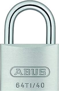 ABUS 64TI/40 buiten Titalium sleutel hangslot