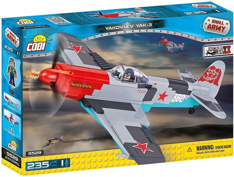 Cobi Flugzeug Yakovlev Yak-3 Kampfjet Jet Bausteine Konstruktion Spielzeug B0768GDFLQ  Elegante und robuste Verpackung | Zahlreiche In Vielfalt