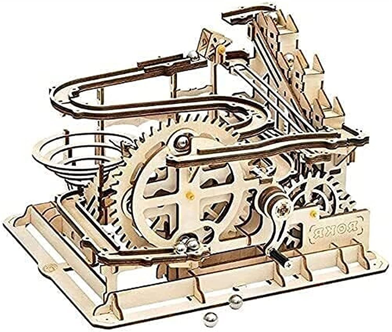 3D Wooden Marble Run Puzzle Surprise price Craft Bo Teen Toy Adults for Luxury Gift